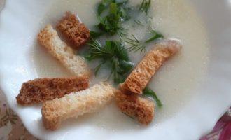 Суп пюре из цветной капусты рецепт