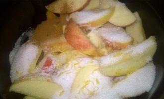 Повидло из яблок -добавляем сахар фото