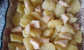 Картошка с сыром - добавляем сыр