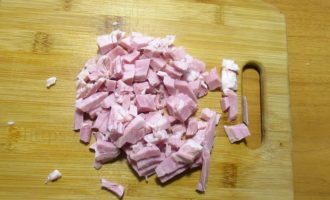 Салат Машенька рецепт- грудинка