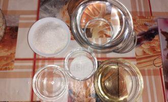 Готовим маринад для капусты провансаль