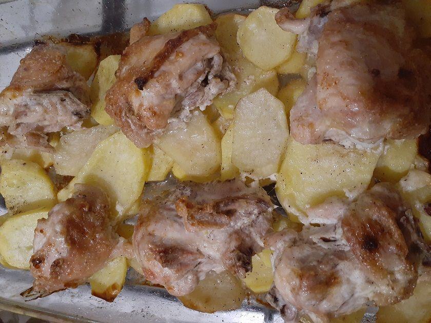 Курица в духовке под майонезом
