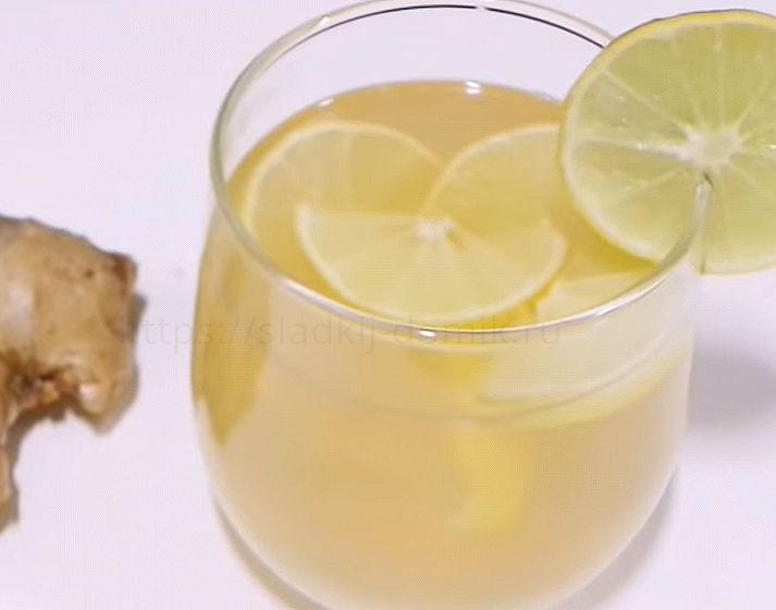 Чай с имбирем и лимоном рецепт