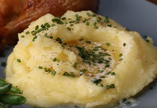 Картофельное пюре на воде как готовить