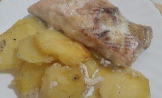Горбуша с картошкой