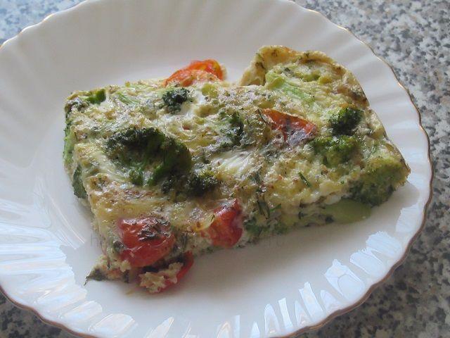 Запеканка для духовки из овощей