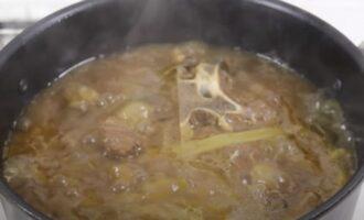 Суп рамен почти готов