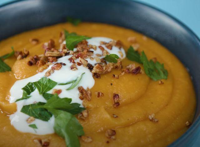 Суп пюре из картошки