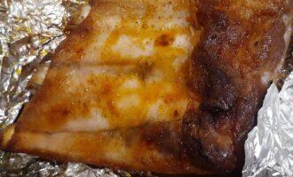 Ребра в фольге из духовки
