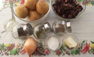 Ингредиенты для грибов