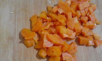 Морковь измельченная
