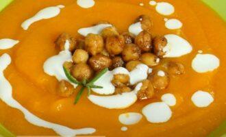 Суп пюре из моркови и картофеля