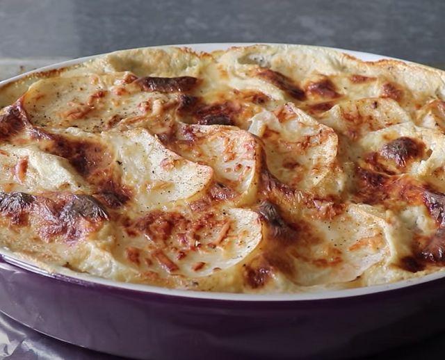 Запеканка из картофеля в духовке