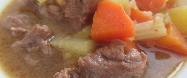 Жаркое с мясом