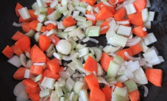 Морковь и сельдерей стеблевой