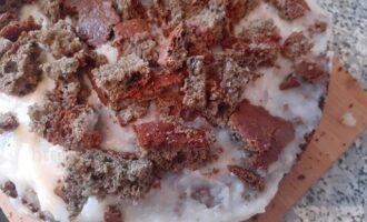 Тортик Негр в пене с заварным кремом